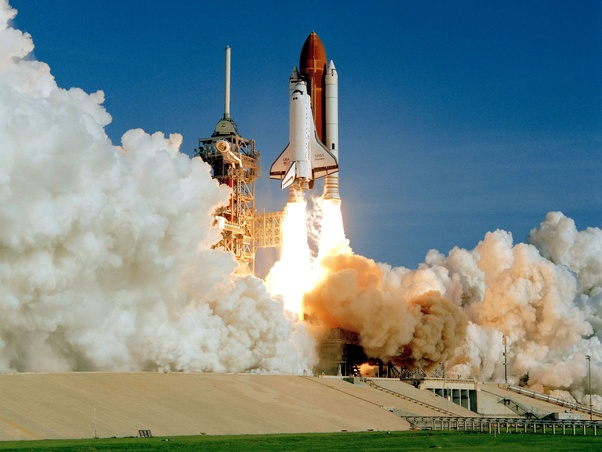 Image result for space shuttle taking off