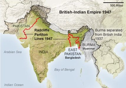 name of boundary line between india and pakistan relationship