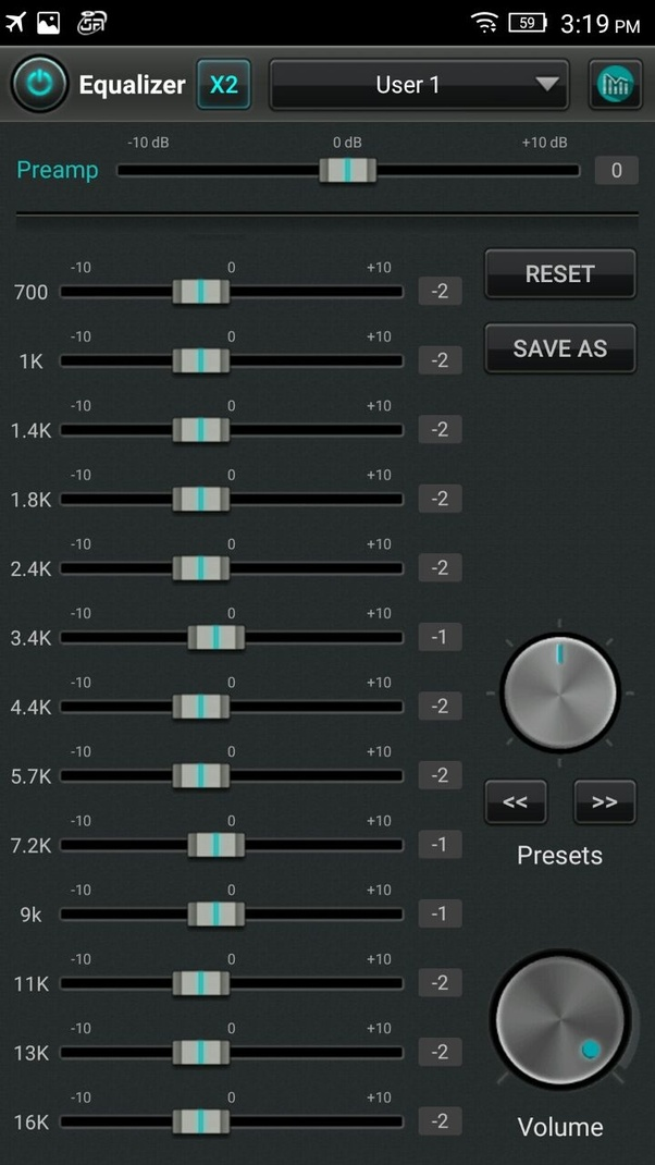 What is the best Equalizer settings for good bass on Android