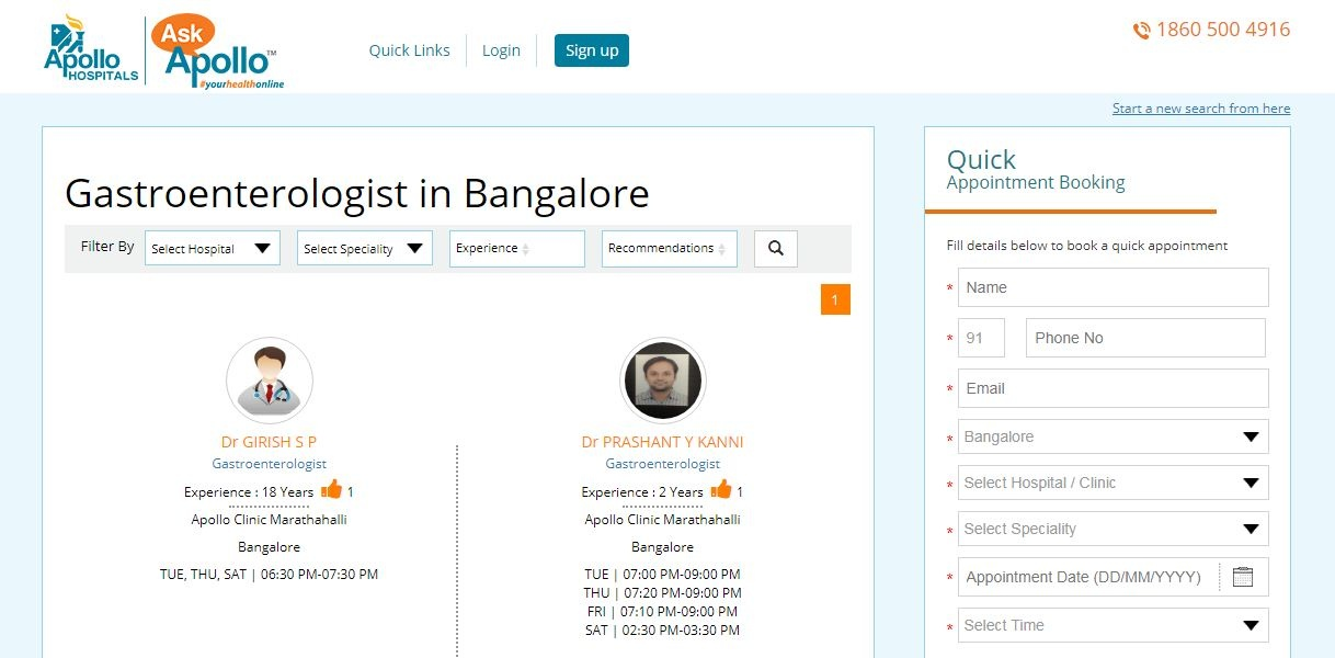 Where can I meet a good gastroenterologist in Bangalore? - Quora