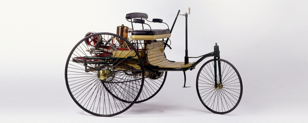 This Was The First Automobile According To Modern Definition Ever Built Benz Patent Motorcar Model No 1 It From 1885 1886 By Karl