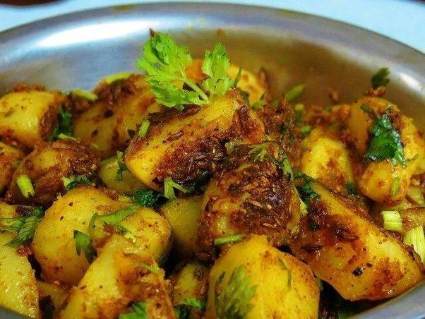 used to make jeera aloo or cumin flavored potatoes