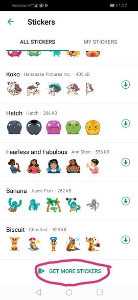 Has anyone used the new stickers feature on WhatsApp on
