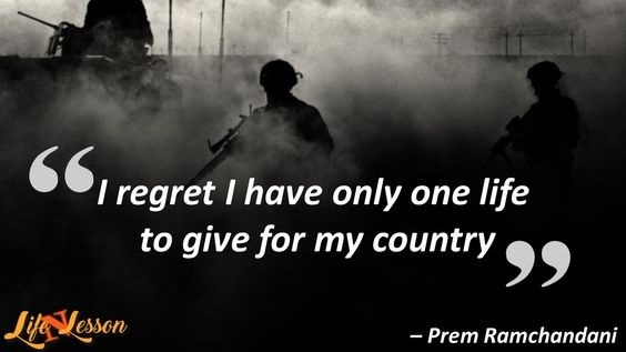 Army Quotes Which 10 Indian Army Quotes Will Make You Proud  Quora