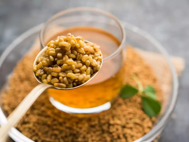 What are the benefits of eating soaked methi (fenugreek seeds ...