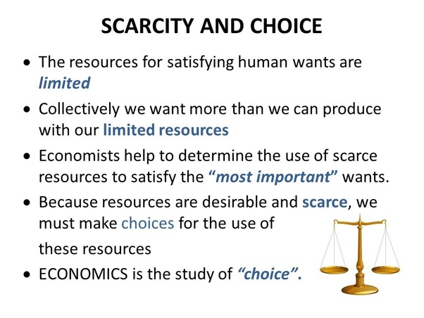 Is The Allocation Of Resources An Example Of Microeconomics Or