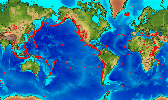 What is the distribution of volcanoes around the world quora volcanic activity is a function of the plate boundary type therefore different types of volcanoes form at different plate boundaries gumiabroncs Image collections