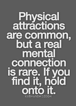 Emotional connection vs physical attraction