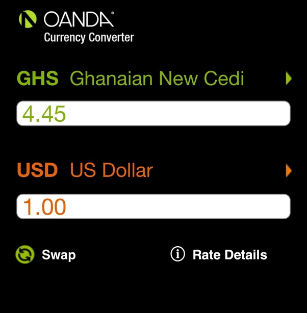 For Future Conversions You Might Want To Get Yourself The Oanda On Google Play Or Better Still Use