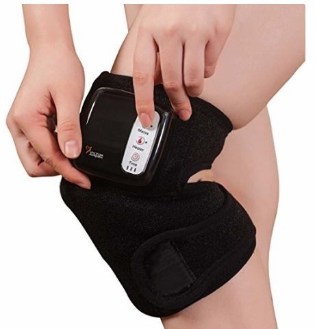 L, Black Knee Brace for Men Women,Knee Compression Sleeve BCDshop Knee Support for Workout Sports,Gym,Joint Pain Relief,Injury Recovery Jogging