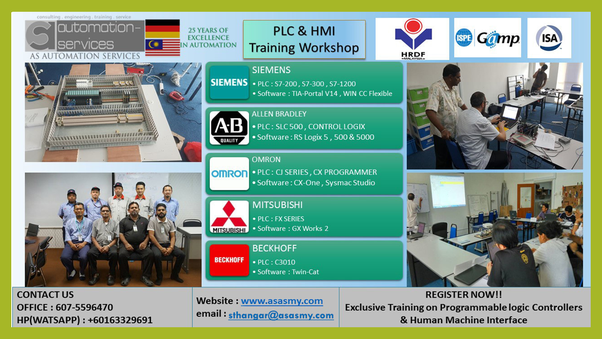 Where can I get training on PLC and HMI in Malaysia? - Quora