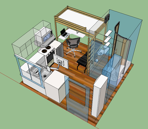 What Are Some Efficient Designs For A Tiny Home?   Quora