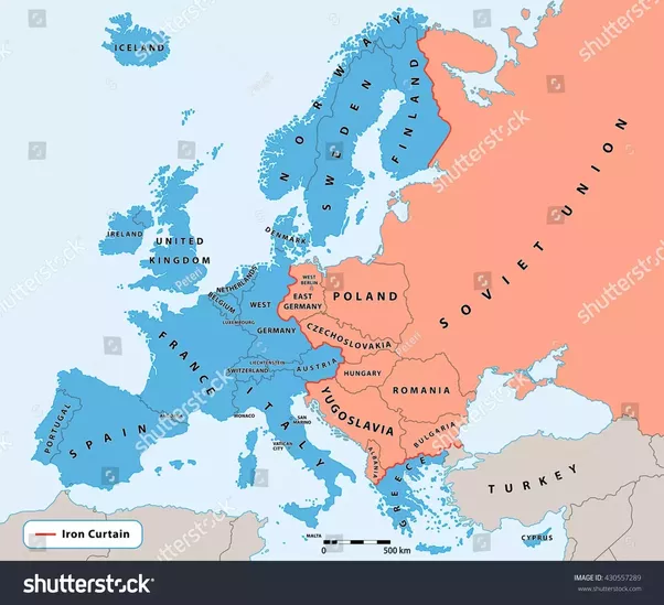 What area is considered to be Western Europe? - Quora