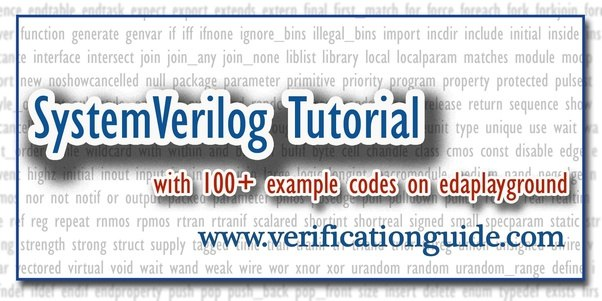 What are some good resources for beginners to learn systemverilog now its easy to learn systemverilog you can practice by executing the example sv codes on your web browser fandeluxe Images