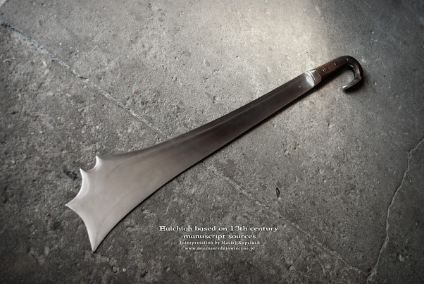 What Kind Of Weapon Is A Real Falchion?
