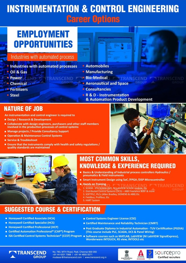 How to get a job in oil and gas field or in automation field