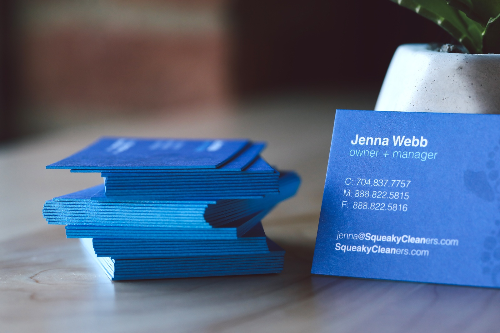 c5225356 Just keep in mind, a business card is a small piece of paper - but it can  do a lot for you and your business. Don't skimp on the design and quality  ...
