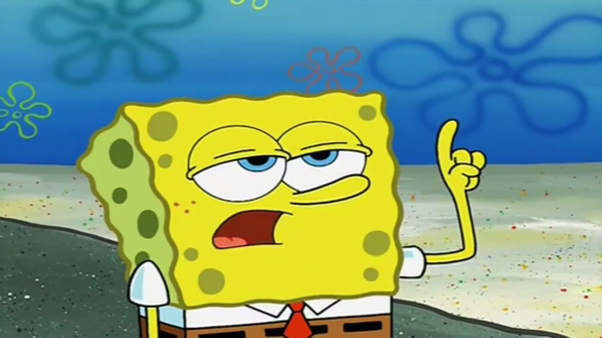 what are some of the funniest faces spongebob makes quora