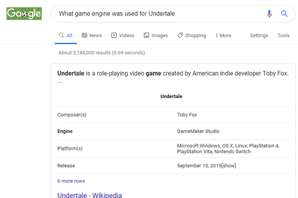 What Game Engine Was Used To Develop Undertale Quora