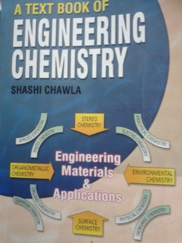 What are the most preferred books for a 1st year in a btech quora engineering chemistry 4ing graphics fandeluxe Images