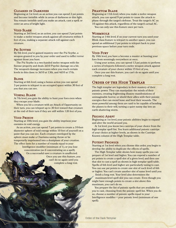 How to nerf the mystic class for 5e - Quora