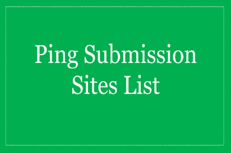 What are ping websites? How will it help in SEO? - Quora