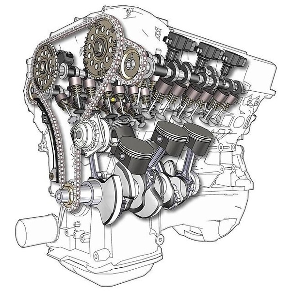 [ZSVE_7041]  What is the difference between a 6-cylinder engine and a V6 engine? - Quora | Inline 6 Engine Diagram |  | Quora
