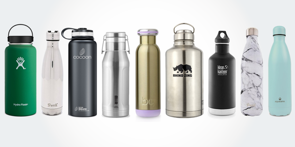 What are the benefits of reusable water bottles market? - Quora