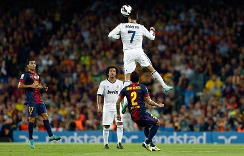 Cristiano Ronaldo Is The One Who Surpasses All Other Footballers Jump