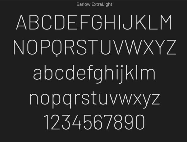 What is your favourite sans-serif typeface? - Quora