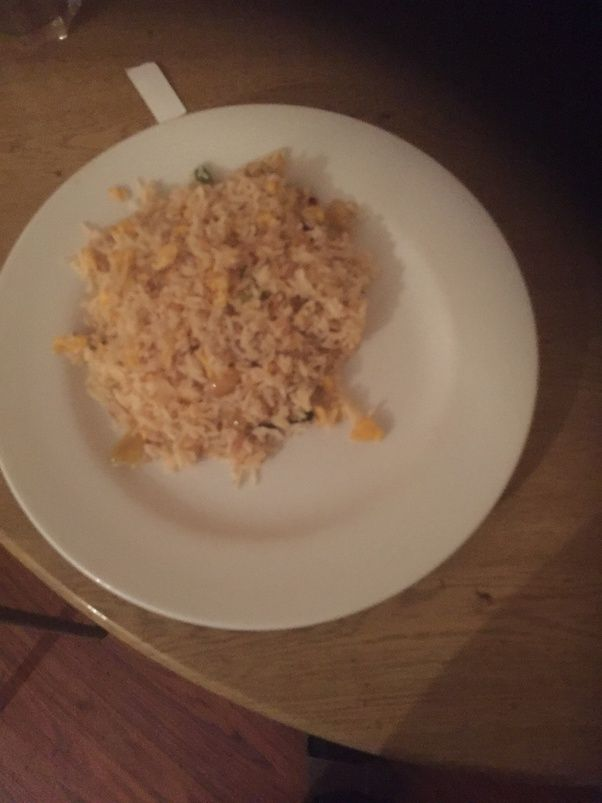 What are the best ways to make fried rice when using fresh rice quora using fresh rice if not already boiled boil first until the rice is almost cooked dont fully cook and let it go cold then place in fridge to ccuart Choice Image