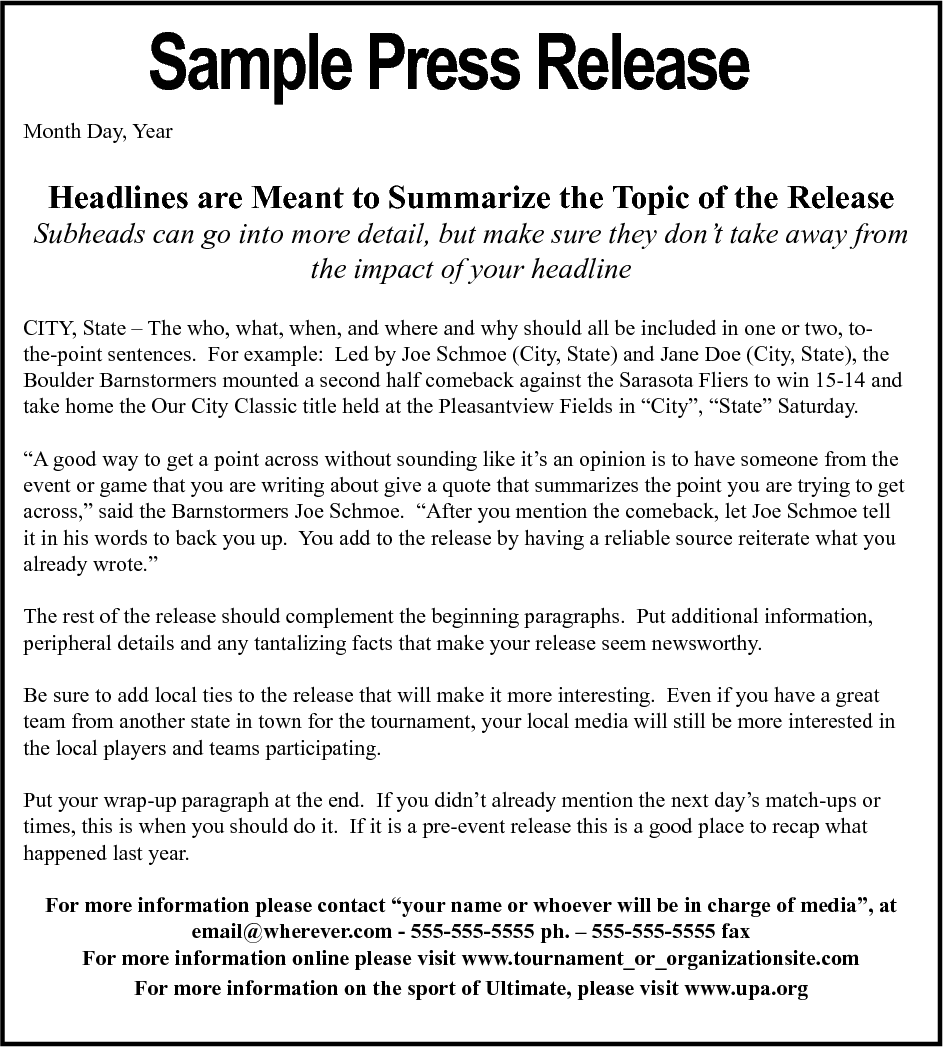 what is the difference between press conference and press release