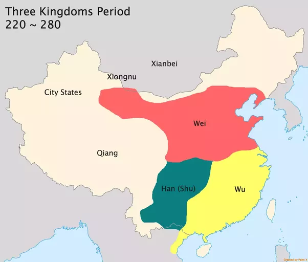 How did china become enormous quora among those three kingdoms the shu han kingdom conquered many minor tribes in modern guizhou and yunnan and significantly expanded territory into gumiabroncs Choice Image