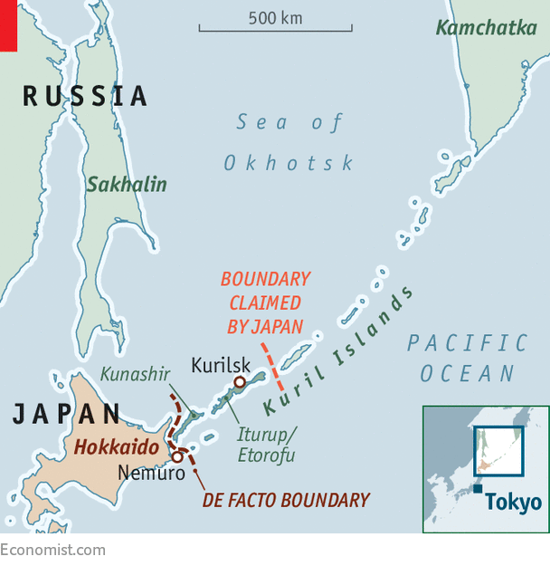 Has Sakhalin ever been in the possession of Japan? I would ...