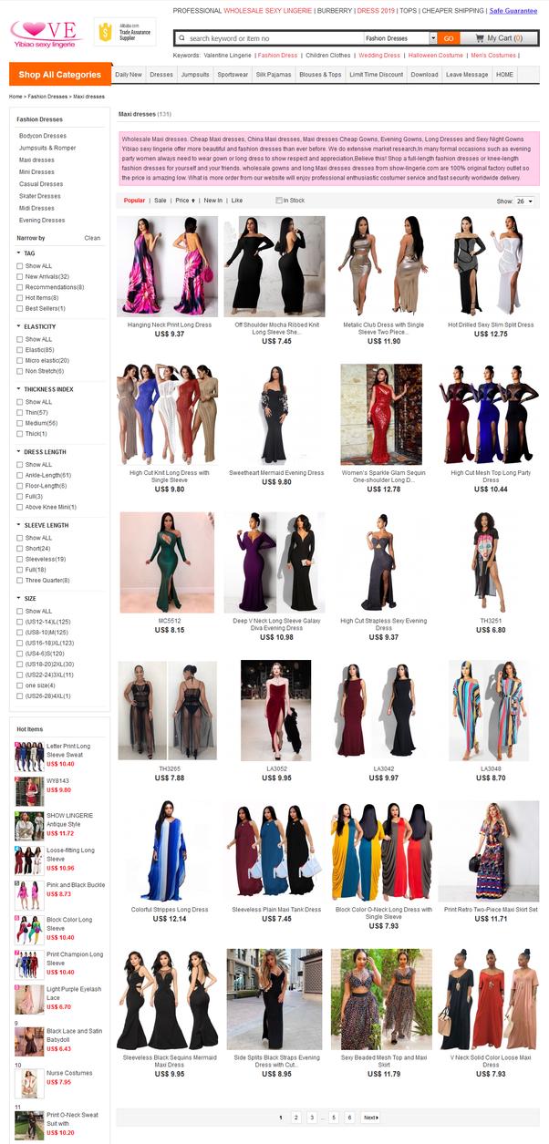 a8b1e82944 Where do I buy maxi dresses wholesale? - Quora