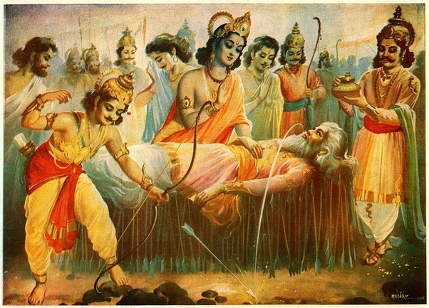 What Was The Last Conversation Between Karna And Bhishma Quora