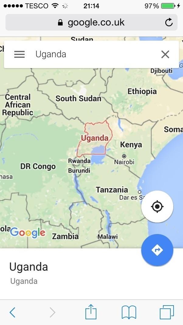 Where Is Uganda Quora - Where is uganda