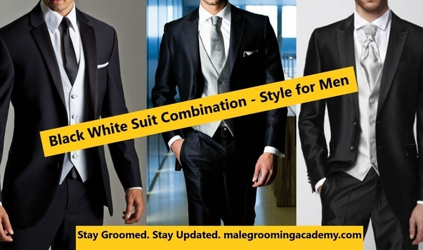 is it good to wear white party wear shirt with black tie and black formal pant with white shoes