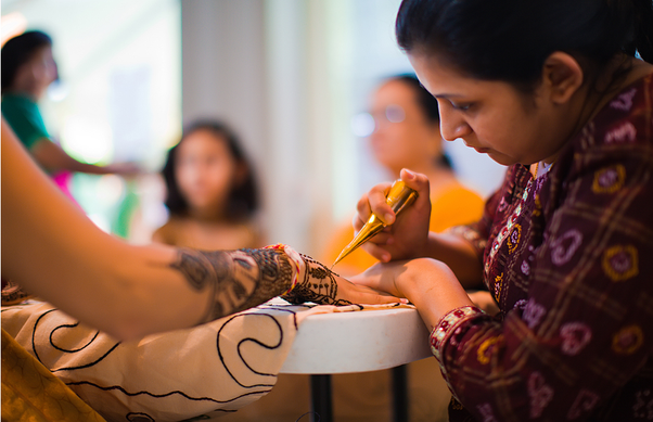 Mehndi Ceremony Wiki : What happens in a typical modern day gujarati wedding? quora