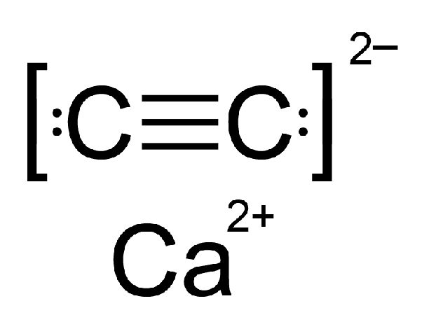 What Is The Dot Structure Of Calcium Carbide Quora