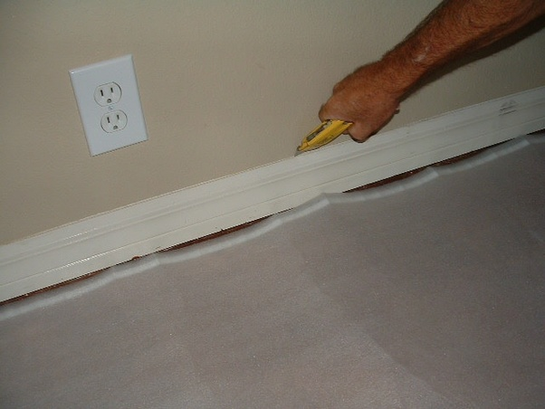 How Should I Remove And Fix Moldy Floorboard Wall In Bathroom Quora - How to fix bathroom wall
