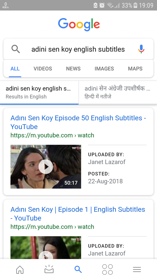 How to find the English subtitle of Adini Sen Koy - Quora