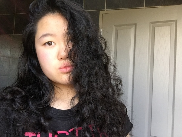 how to make chinese hair wavy