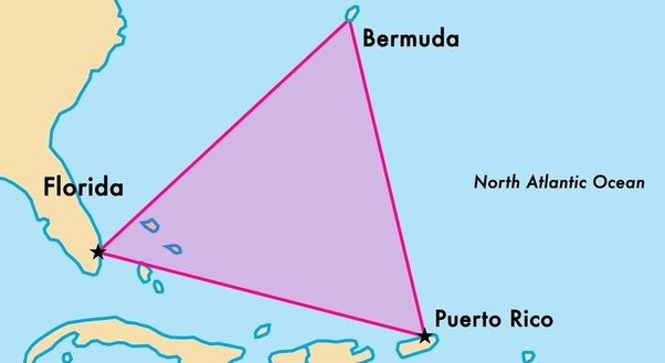 What Is Bermuda Triangle Is It True Or Not Quora - Bermuda-in-relation-to-us-map