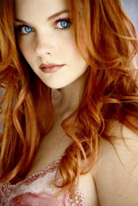 Freckled irish redhead manage somehow