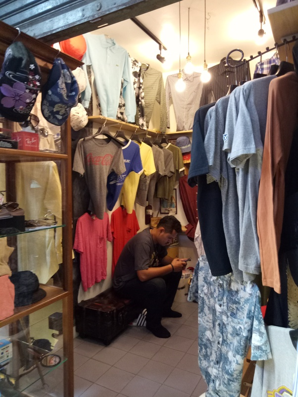 Where is a second-hand things market in Bangkok, where
