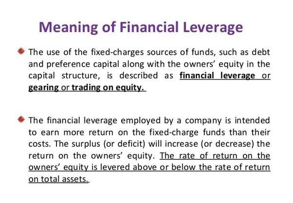 Meaning of leverage советник форекс bb 0.1