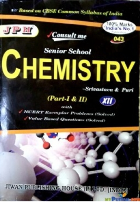 Cbse Chemistry Book For Class 12