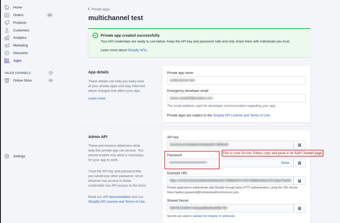 How to get my Shopify API key - Quora