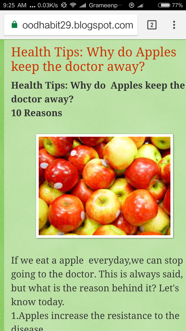 3 apples a day diet